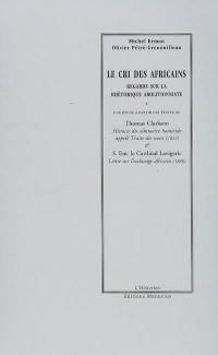 Lettre sur l'esclavage africain