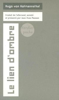 Le lien d'ombre : poèmes complets