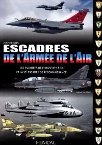 Les escadres de l'armée de l'air