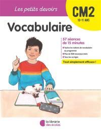 Vocabulaire CM2, 10-11 ans