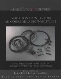 Evolution d'un terroir au cours de la protohistoire