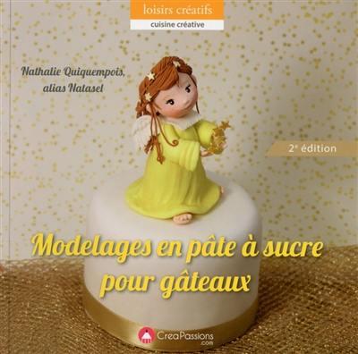 Modelages en pâte à sucre pour gâteaux