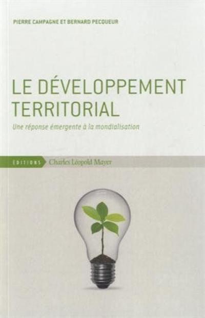 Le développement territorial
