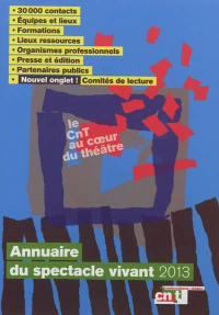 Annuaire du spectacle vivant 2013