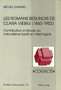 Les romans berlinois de Clara Viebig (1860-1952)
