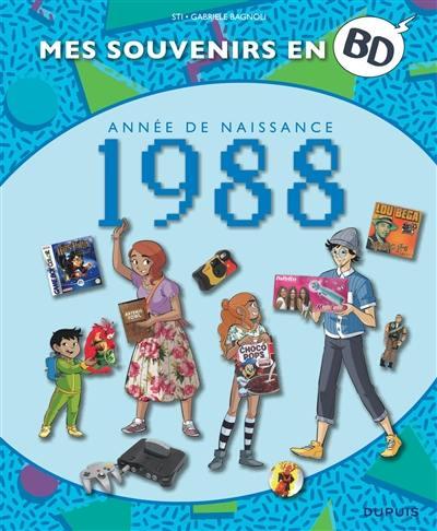 Mes souvenirs en BD. Volume 49, Année de naissance