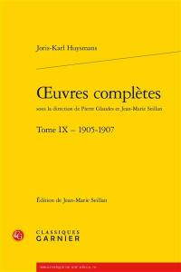 Oeuvres complètes. Volume 9, 1905-1907