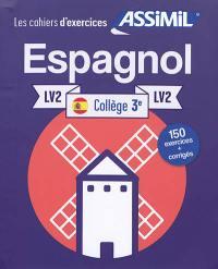 Espagnol collège 3e, LV2