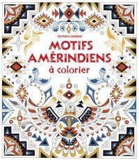 Motifs amérindiens à colorier