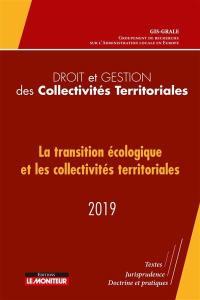 La transition écologique et les collectivités territoriales