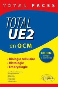 Total PACES, UE2 en 1.000 QCM corrigés et commentés