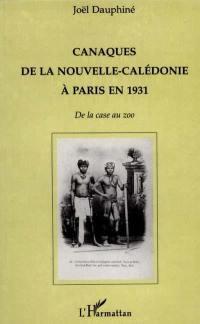 Canaques de la Nouvelle-Calédonie à Paris en 1931