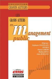 Les grands auteurs en management public