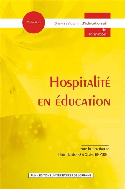 Hospitalité en éducation