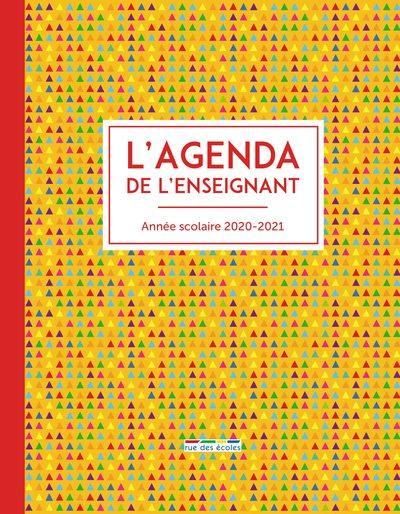 L'agenda de l'enseignant : année scolaire 2020-2021