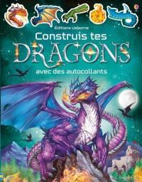 Construis tes dragons avec des autocollants