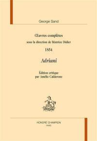 Oeuvres complètes, 1854