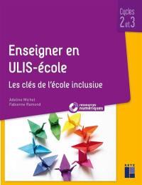 Enseigner en Ulis-école