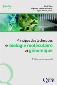 Principes des techniques de biologie moléculaire et génomique