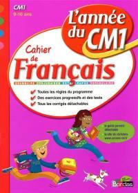 Cahier de français, l'année du CM1, 9-10 ans