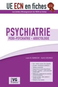 Psychiatrie : pédo-psychiatrie, addictologie : validation PU-PH