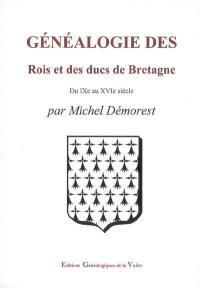 Généalogie des rois et des ducs de Bretagne