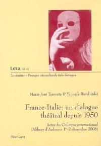 France-Italie, un dialogue théâtral depuis 1950
