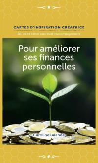 Pour améliorer ses finances personnelles