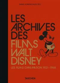 Les archives des films de Walt Disney. Volume 1, Les films d'animation