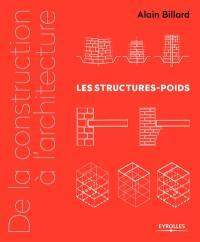 De la construction à l'architecture, Les structures-poids