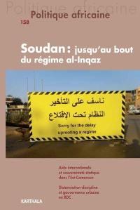 Politique africaine. n° 158, Soudan