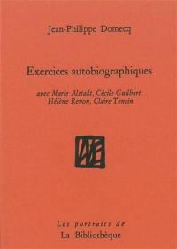Exercices autobiographiques