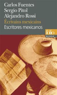 Escritores mexicanos = Ecrivains mexicains