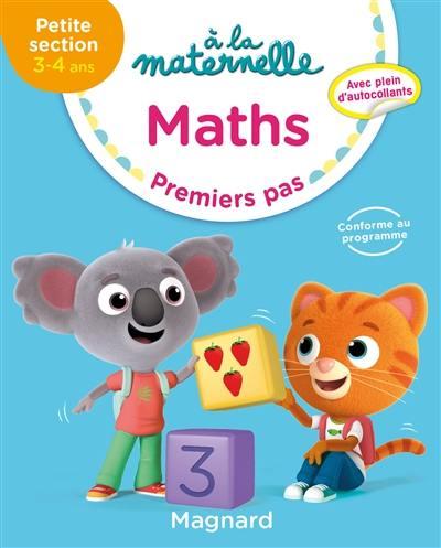 A la maternelle, maths, petite section, 3-4 ans