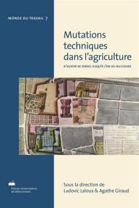 Mutations techniques dans l'agriculture