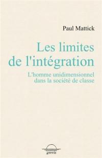 Les limites de l'intégration