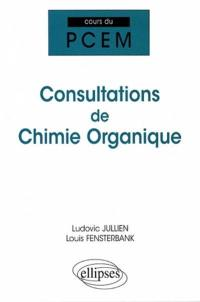 Consultations de chimie organique