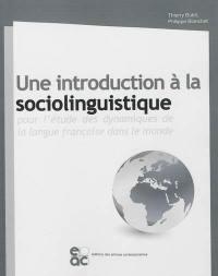 Une introduction à la sociolinguistique