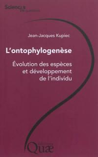 L'ontophylogenèse