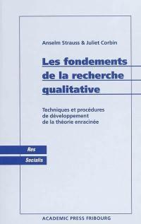 Les fondements de la recherche qualitative