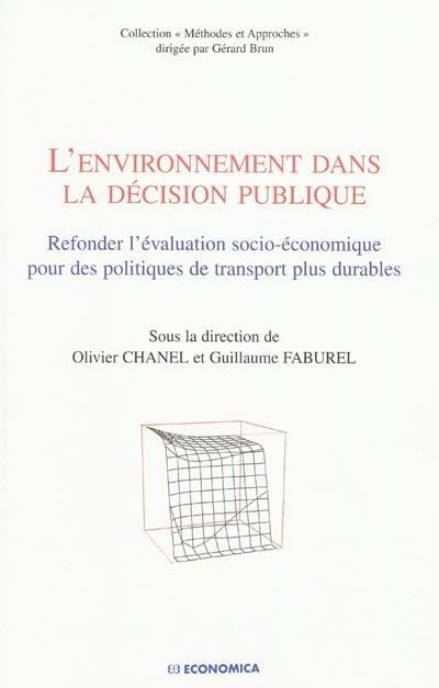L'environnement dans la décision publique
