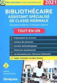 Bibliothécaire assistant spécialisé de classe normale