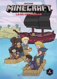 Minecraft : la BD officielle. Vol. 2. Le monument au fond de l'océan
