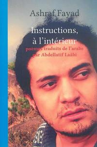 Instructions, à l'intérieur