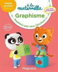 A la maternelle, graphisme, petite section, 3-4 ans