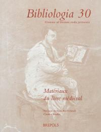 Matériaux du livre médiéval