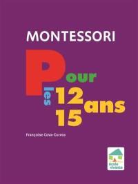 Montessori pour les 12-15 ans
