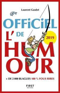 L'officiel de l'humour 2019