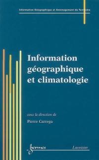 Information géographique et climatologie