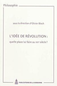 L'idée de révolution